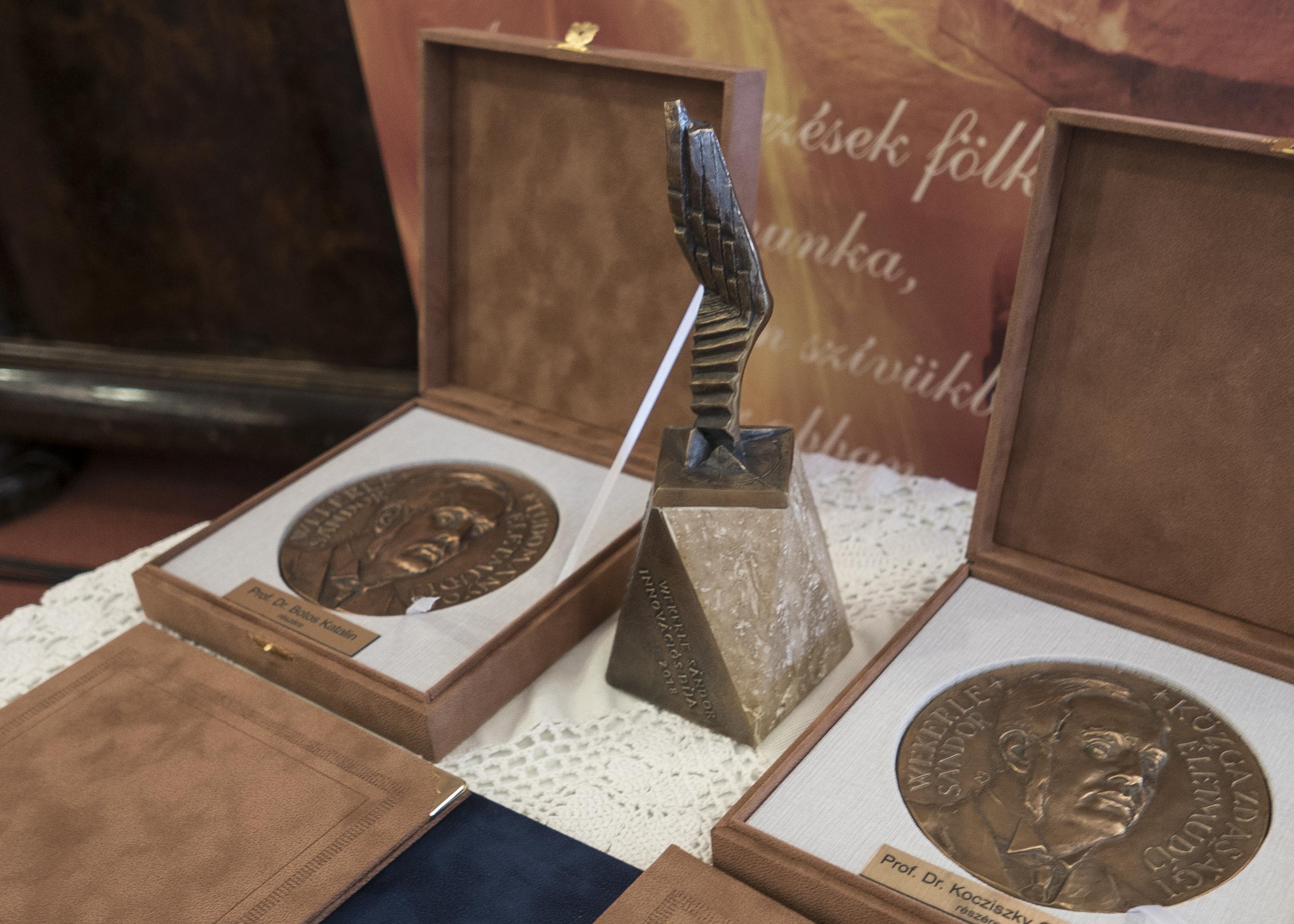 Wekerle díjak átadása és tudományos konferencia Mór, 2021.09.17.