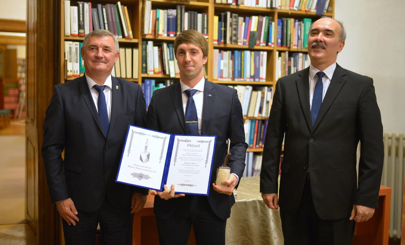 Wekerle Sándor Fiatal szakemberek innovációs díja 2018. évi átadása
